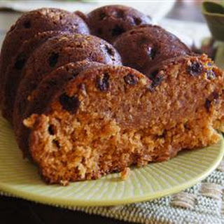 Raisin-Spice Snack Cake