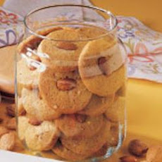 Almond Icebox Cookies
