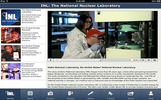 INL Nuclear Research App