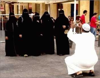 Islamisches Model Shooting
