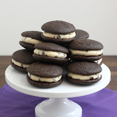 Chocolate Chip Cookie Dough Whoopie Pies