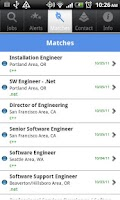Screenshot of MBG Jobs
