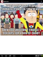 Screenshot of Memes LOL