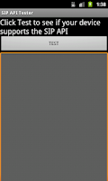 Screenshot of SIP API Tester