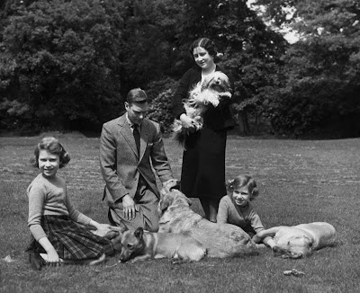 A family day out, 1936