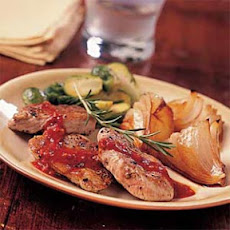 Pork Medallions with Orange-Rosemary Sauce