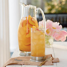 Governor's Mansion Summer Peach Tea Punch