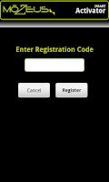 Screenshot of SMART Activator