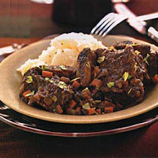 Braised Short Ribs with Red Wine Gravy