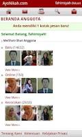 Screenshot of AyoNikah.com - Kontak Jodoh