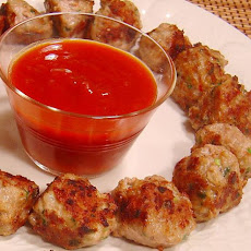 Vietnamese Pork Balls With Hot and Sour Dipping Sauce