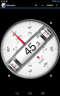 App Clinometer + bubble level 2.4 APK for iPhone