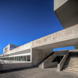 by Piotr Margiel - Buildings & Architecture Other Exteriors ( school, zurich, enge, freudenberg, concrete )