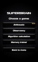 Screenshot of Super Brain Paid version