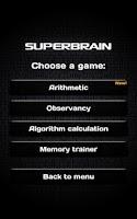 Screenshot of Super Brain Paid version