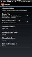 Screenshot of 3D Space Live Wallpaper Free