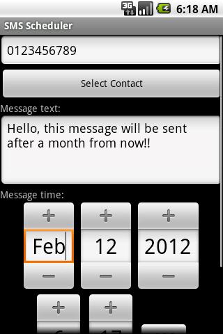 【免費通訊App】SMS Scheduler-APP點子