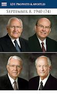 Screenshot of LDS Prophets & Apostles