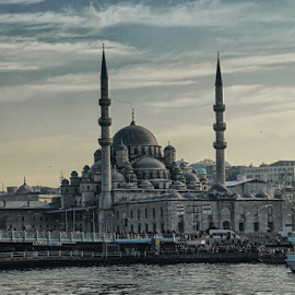 The Masjid by Ahmad Azaharuddin Omar - Buildings & Architecture Places of Worship ( masjid, mosque, boats, tukey, pier, quay, instanbul, minarets, river )