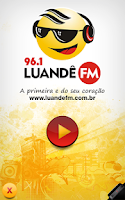 Screenshot of Rádio Luandê 96.1 FM