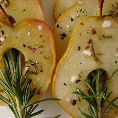 Broiled Apples and Pears with Rosemary