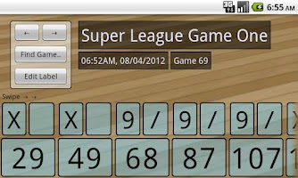 Screenshot of Tenpin Bowling Analyser