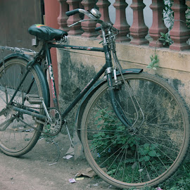 lonely traveller by Sasi Kumar K - Transportation Bicycles (  )