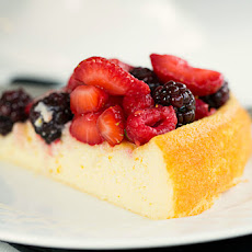 Ricotta Cake with Fresh Berries