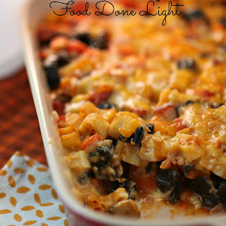 Pasta and Turkey Sausage Bake (Halloween Pasta Bake)