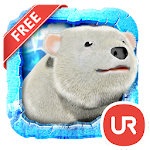 UR 3D Polar Bear HD Wallpaper APK Image