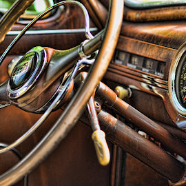 by Becky Kempf - Transportation Automobiles ( car, automobile, steering wheel )