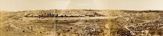 General View of Holy Jerusalem from the East