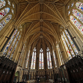 Exeter College Chapel, Oxford, UK by Almas Bavcic - Buildings & Architecture Places of Worship