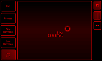 Screenshot of Sythe Synthesizer Free