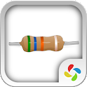 Resistor (color codes) icon