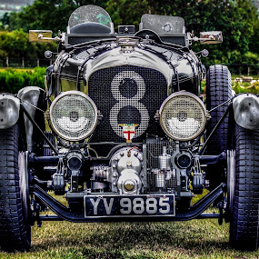 1929→1931 Bentley 4½ Litre 'Blower' by Ian Flear - Transportation Automobiles