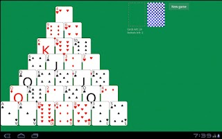 Screenshot of Solitaire Pyramid HD