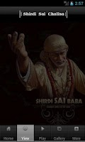 Screenshot of Sai Chalisa with Audio