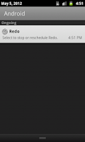 Screenshot of Redo Reminder