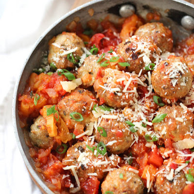 Tabasco Chicken Meatballs