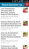 Screenshot of Renal & Urology News