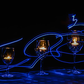 by Anna Klobuch - Abstract Light Painting