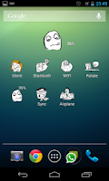 Screenshot of The Meme Widgets