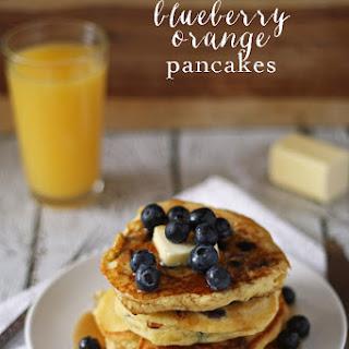 Orange Blueberry Pancakes Recipes