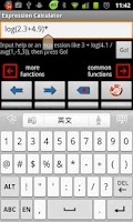 Screenshot of Scientific Calculator Exp