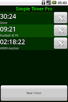 Screenshot of Simple Timer Pro