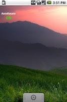 Screenshot of ローテーション設定ウィジェット