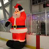 Photo Gallery of  Free Skate with Santa Event at the Gibsons Arena