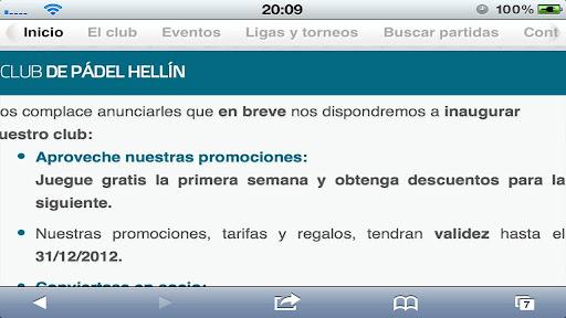 Club de padel Hellin