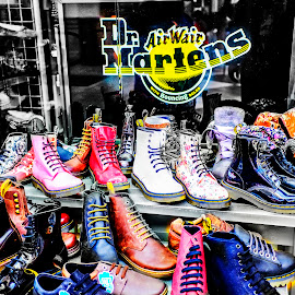 Hmmm by Dicky A Wartono - Artistic Objects Clothing & Accessories ( colour, market, balck, ohio, fav, shoe, memory )